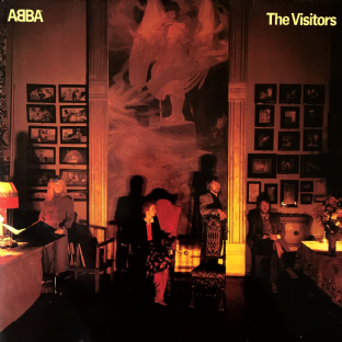 Abba ‎- The Visitors (LP) (VG-/VG-)